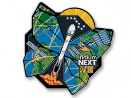 The Official Iridium-8 Launch Patch